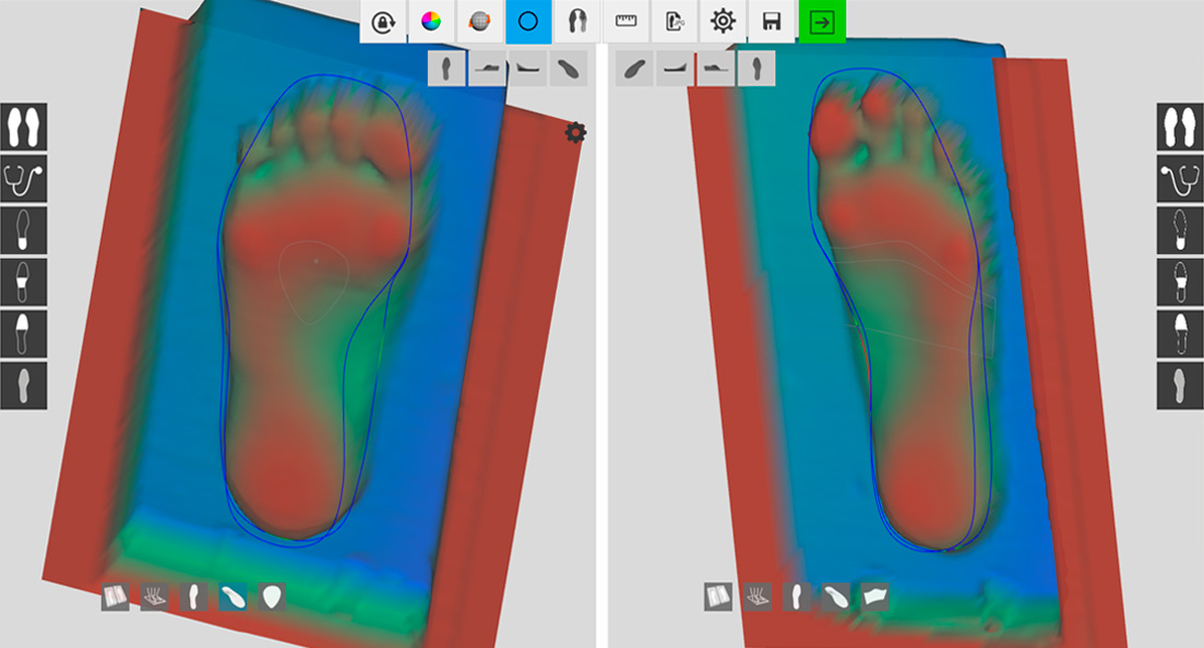 Online Insole CAD Software