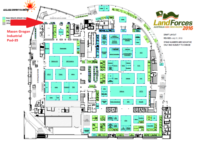 Location Of Our Stand