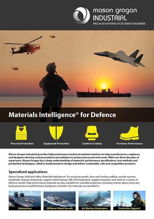 Specialist Materials for Marine Defence