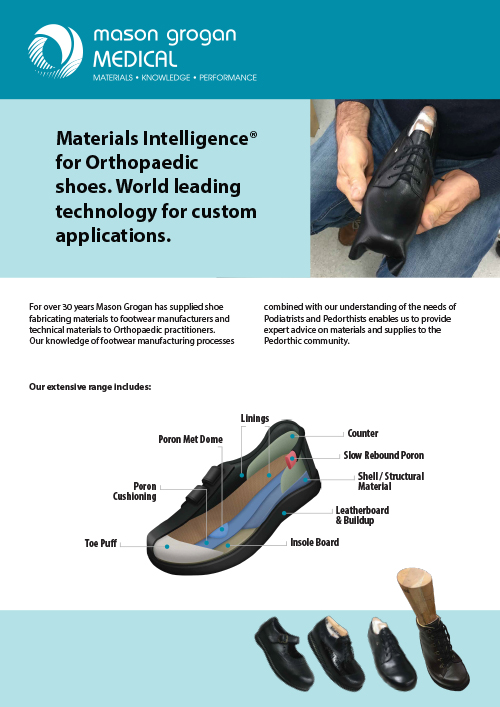 A quick guide to our extensive range of footwear materials