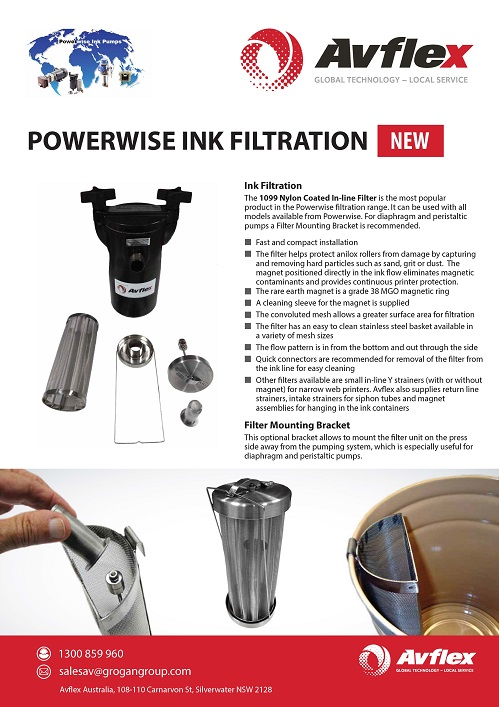 Powerwise Ink Filtration